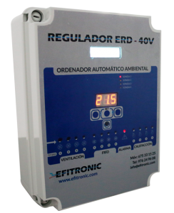 regulador de temperatura en granjas